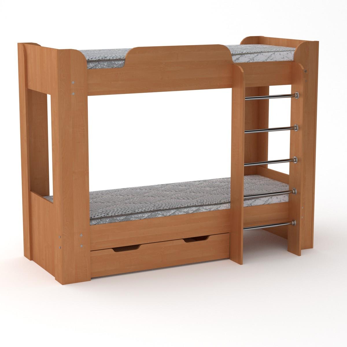 Двухъярусная кровать Твикс-2 цвет ольха