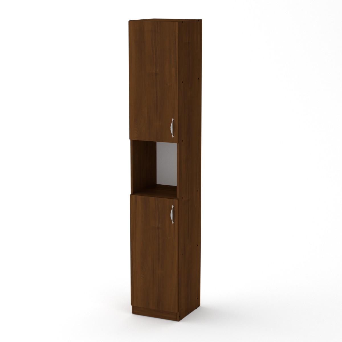 Шкаф книжный КШ-10, цвет орех экко
