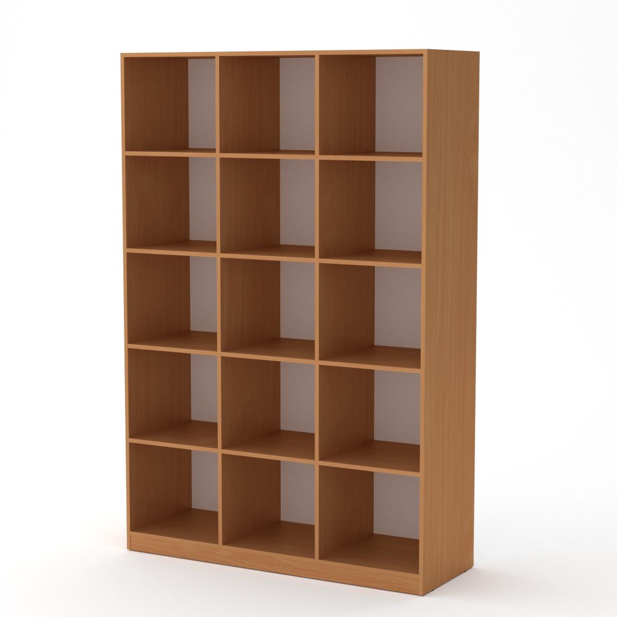 Шкаф книжный КШ-3, цвет бук