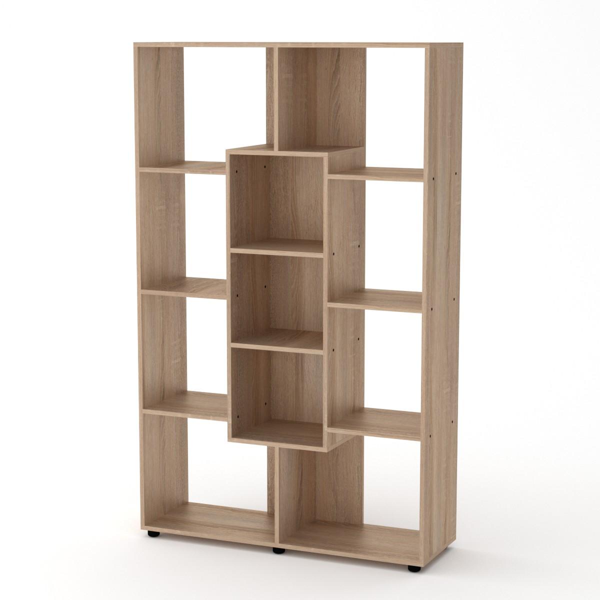 Шкаф книжный КШ-4, цвет дуб сонома
