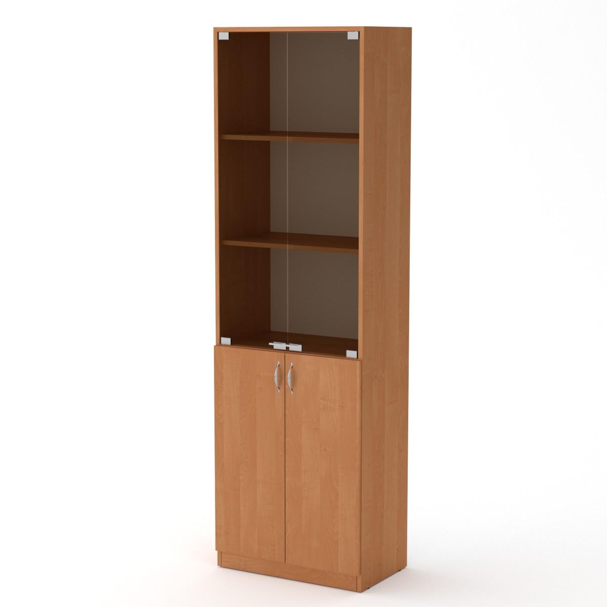 Шкаф книжный КШ-6, цвет ольха