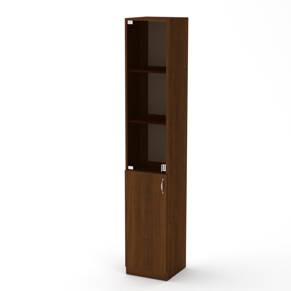 Шкаф книжный КШ-9, цвет орех экко
