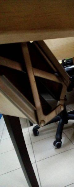 Стол А-13, механизм вставки
