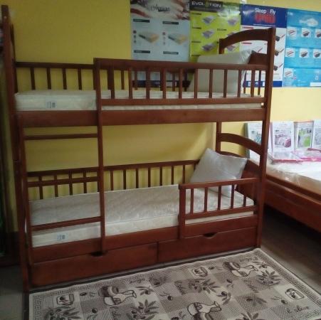 Кровать Карина Люкс, цвет орех