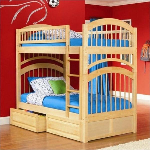 Двухъярусная кровать Артемон, цвет ольха