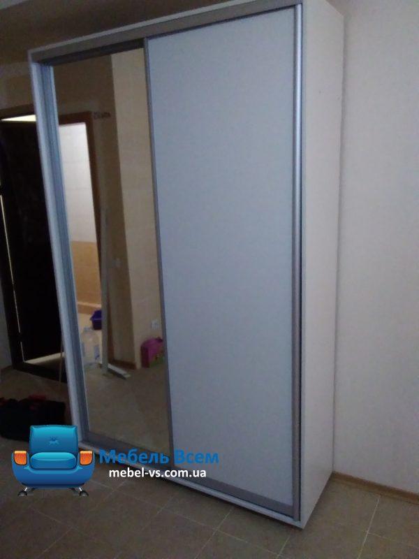 Фото 2-х дверный шкаф-купе Виват В144 (140x45x220)