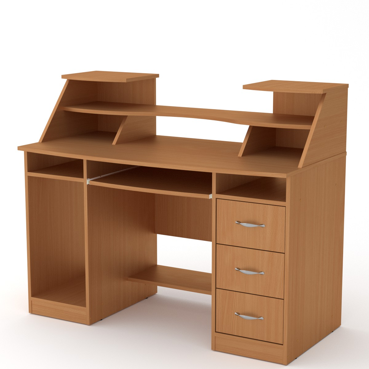 Стол компьютерный Комфорт-5, цвет бук