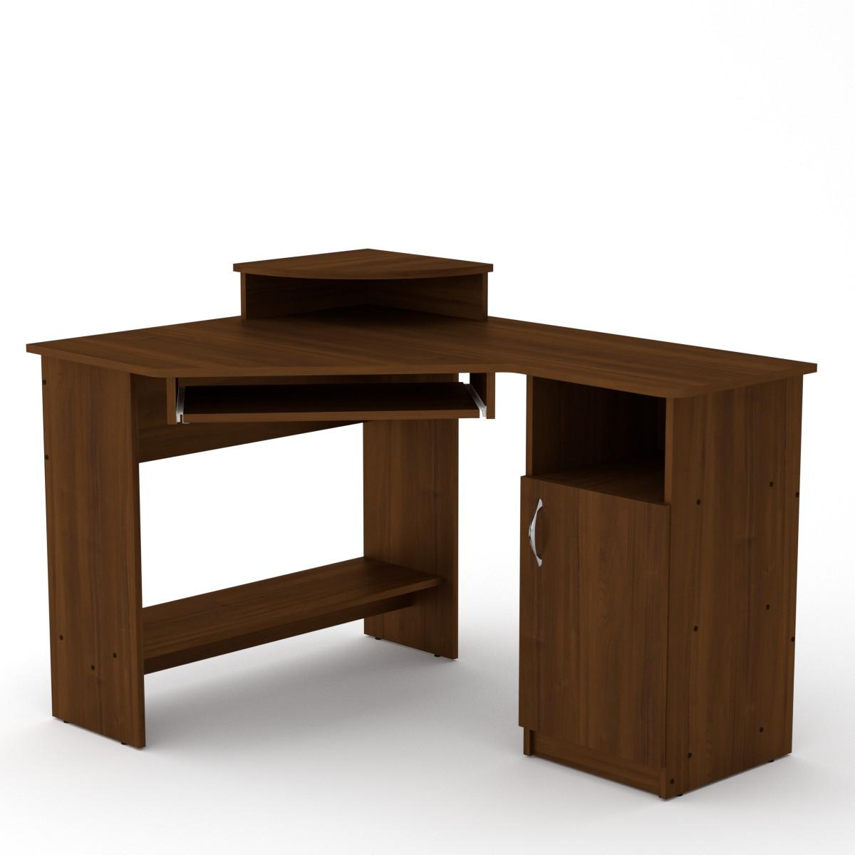 Стол компьютерный СУ-1, цвет орех экко