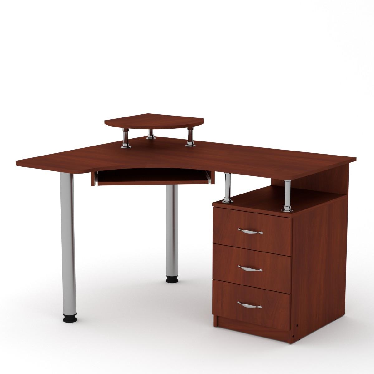 Стол компьютерный СУ-2, цвет яблоня
