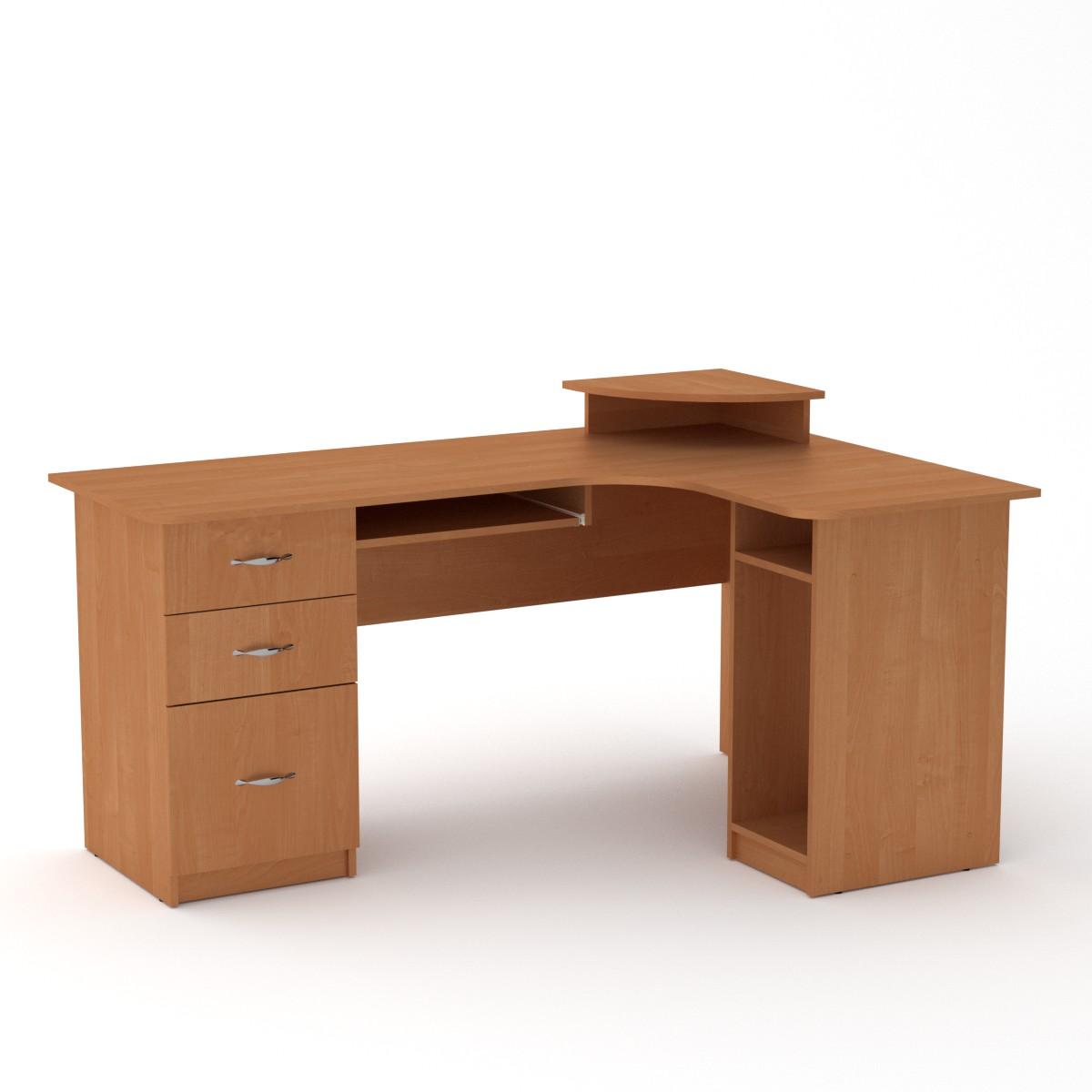 Стол компьютерный СУ-3, цвет ольха