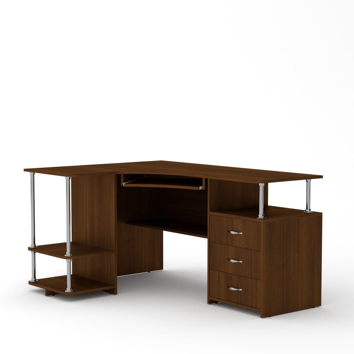 Стол компьютерный СУ-4, цвет орех экко