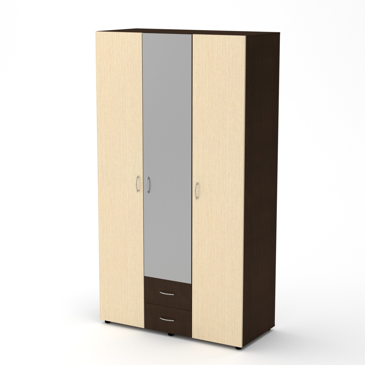 Шкаф - 6, цвет венге комбин