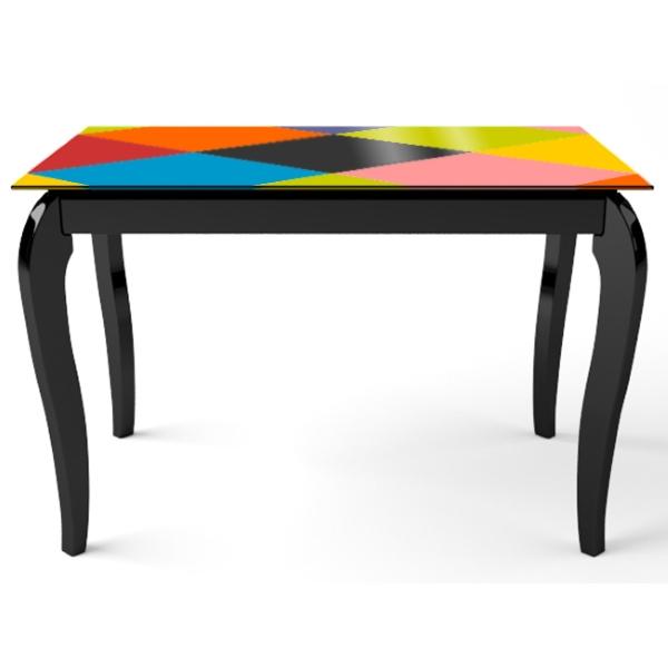 Стол деревянный Comfy Home Egoist-Art (черный) 110 х 64 мм (EA110)