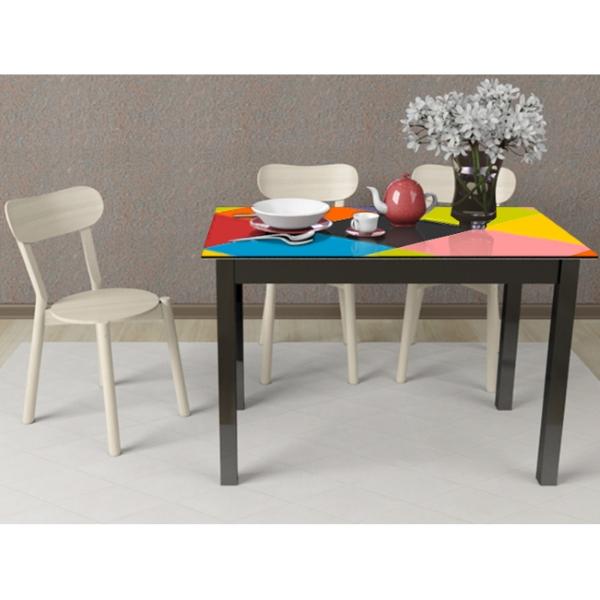 Стол деревянный Comfy Home MyTable-Art (черный) 110 х 64 см (MA-110)