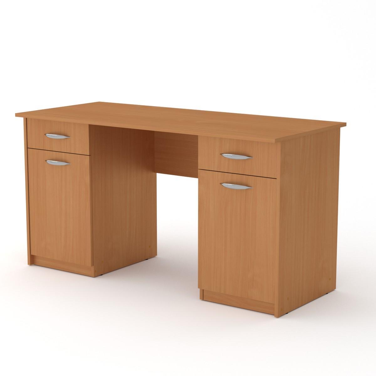 Стол письменный Учитель - 2, цвет бук