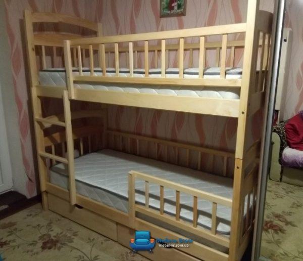 Двухъярусная кровать Карина Люкс фото