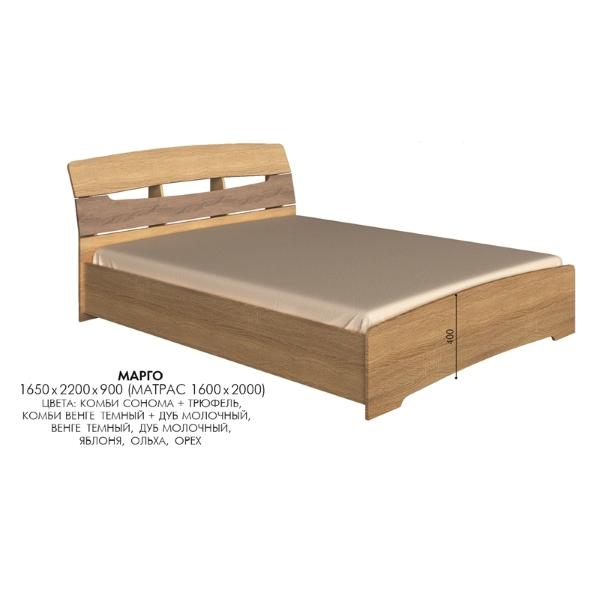 Двухспальная кровать Марго