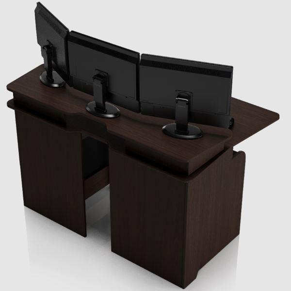 Геймерский игровой стол ZEUS IGROK-4