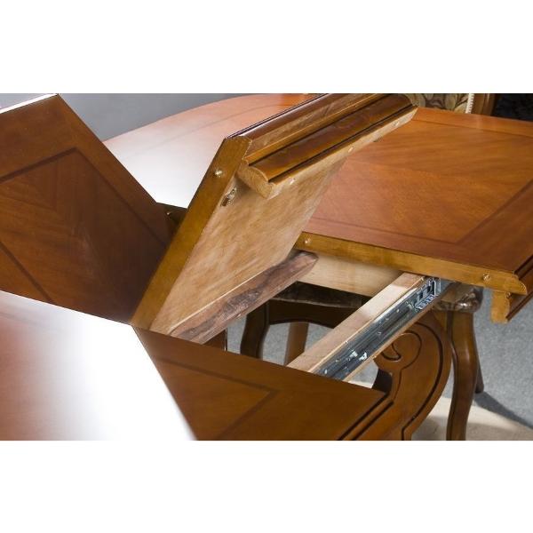 Стол обеденный раскладной D2801 Arcadia, раскладка