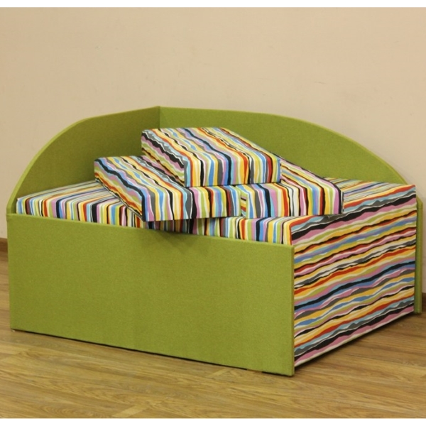 Кубик, диван в ткани автобеби и бонус нова олив (акция)