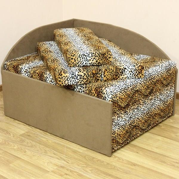 Кубик, диван в ткани лео 42 и элиша 08. Акция