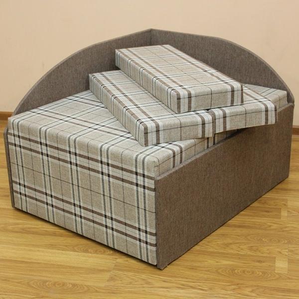 Кубик , диван в ткани шотландия 1 а и 1 с. Акция