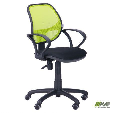 Офисное кресло Байт (спинка сетка салатовая)