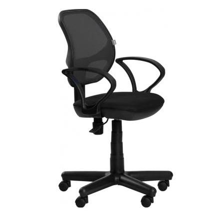 Офисное кресло Байт (спинка сетка чёрная)