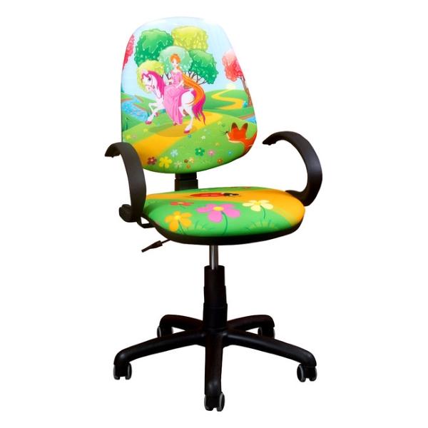 Детское компьютерное кресло Поло 50/АМФ-5 дизайн №15 принцесса