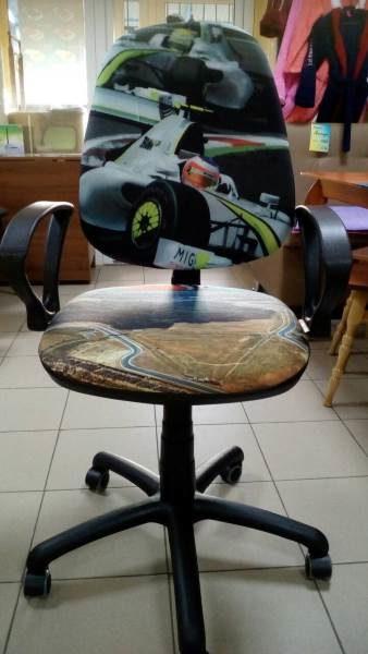 Детское компьютерное кресло Поло 50 АМФ5 – Гонки №2