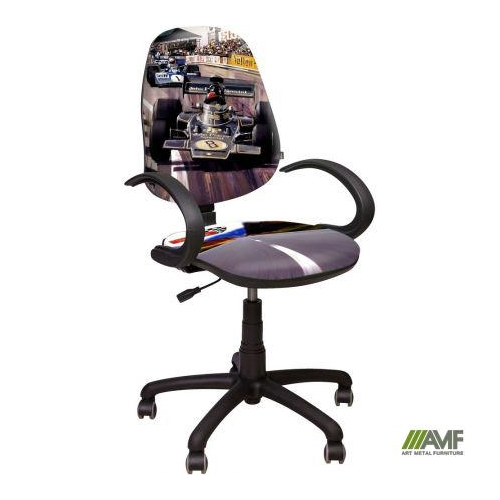 Детское компьютерное кресло Поло 50 АМФ5 – Дизайн Гонки №1