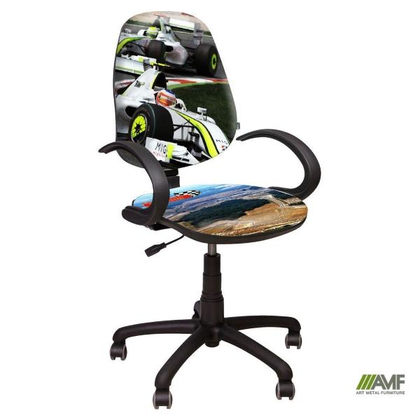 Детское компьютерное кресло Поло 50 АМФ5 – Дизайн Гонки №2