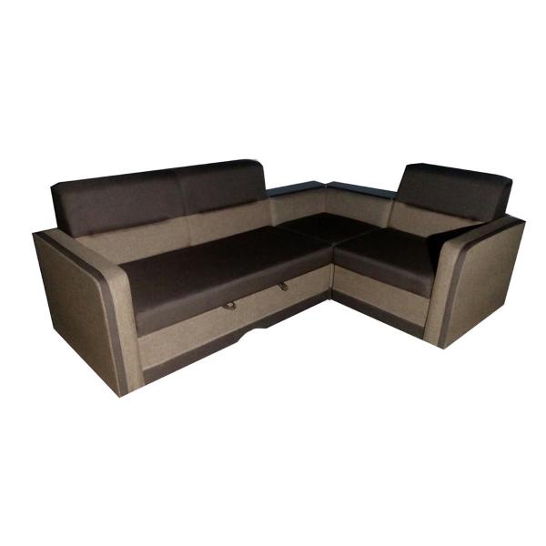 Угловой диван Виктория, в ткани люкс (фит) 12 + люкс (фит) 03. Акция.