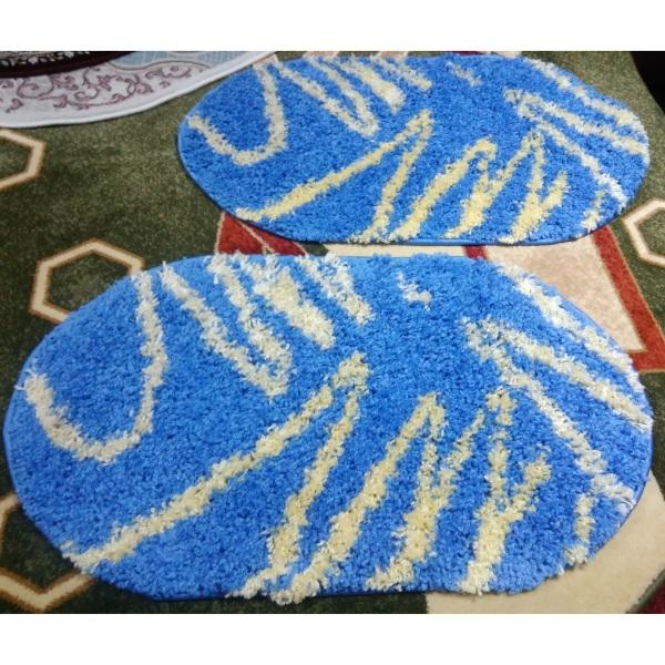 Ковер Shaggy 0791 BLUE (0.5х0.8м)