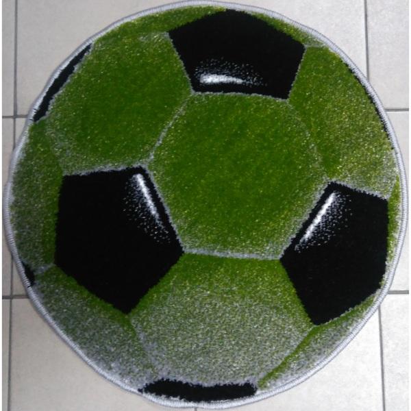 Ковер смайл круглый Мяч 11198-130