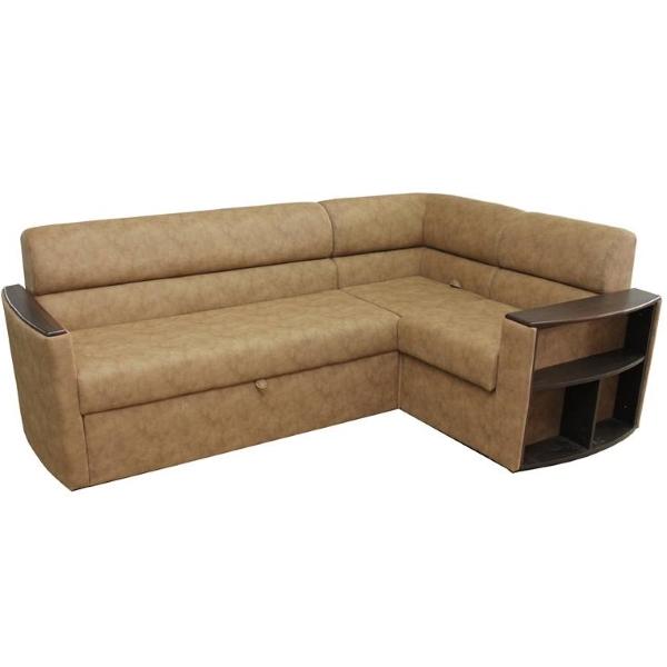 Николь, угловой диван в ткани альфа кэмэл. 1-я категория