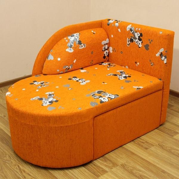 Панда, диван в ткани мики оранж. 1-я категория