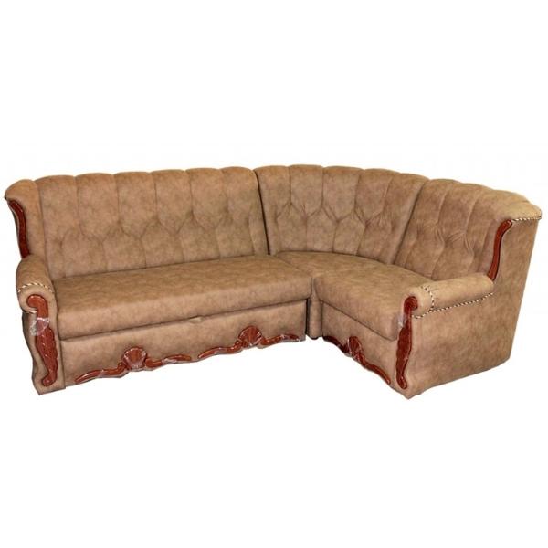 Роксана, угловой диван в ткани альфа кэмэл. 1-я категория