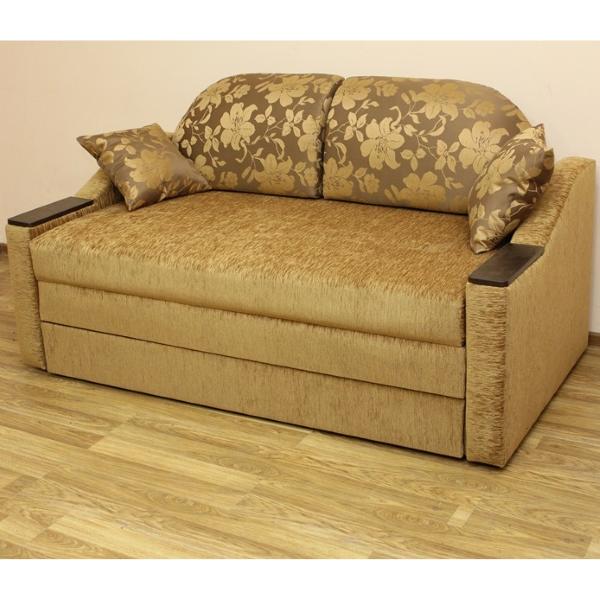 Вояж 1,6, диван в ткани малибу голд и эльдорадо 103