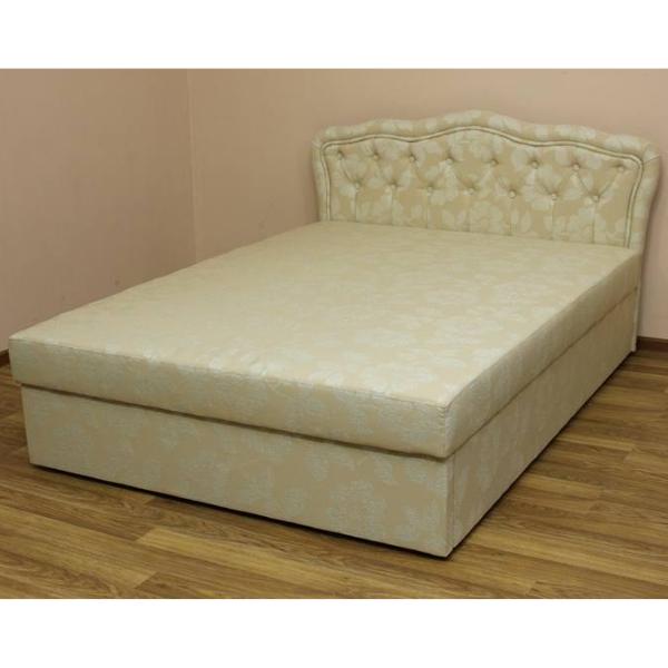 Кровать Ева 1,4 в ткани дс 27. 1-я категория
