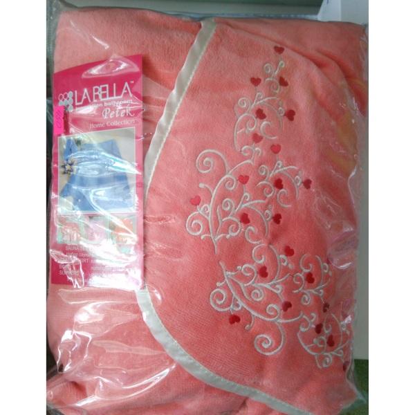 Набор для сауны женский велюровый (3 предмета)