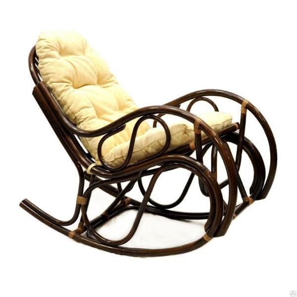 Кресло-качалка 0504, цвет шоколад
