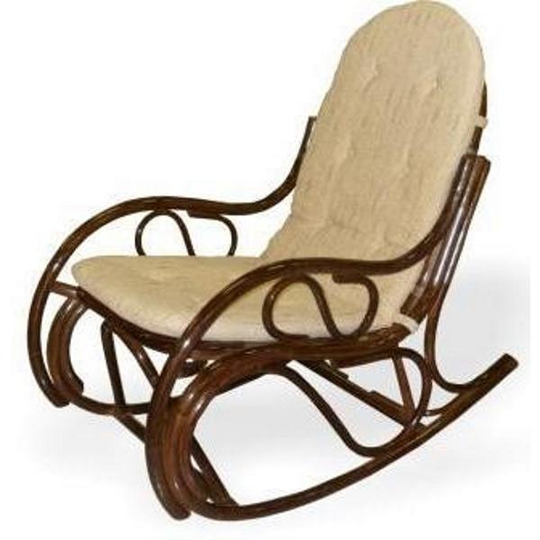 Кресло-качалка 0504, цвет коньяк