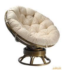 Кресло-качалка Папасан, цвет оливка