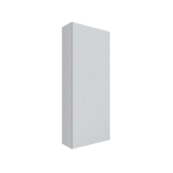 Пенал навесной 90 VIGO корпус - белый матовый; фасад – белый глянец.