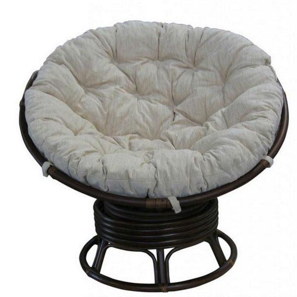 Кресло-качалка Папасан, цвет шоколад