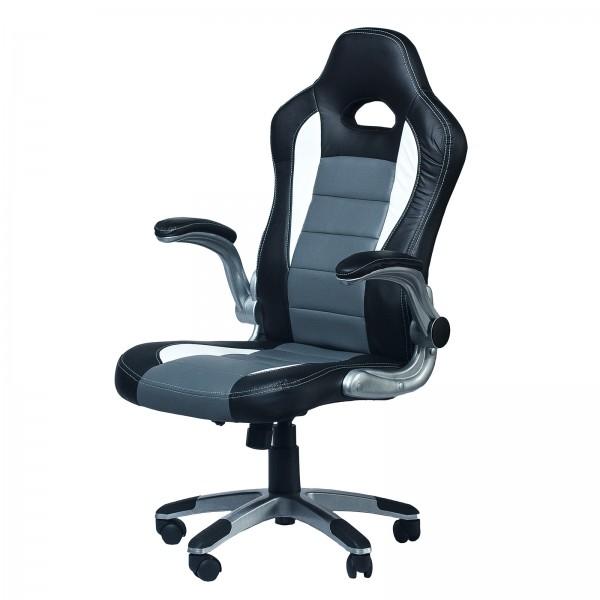 Геймерское кресло Zeus Forsage grey