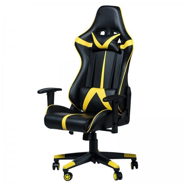 Геймерское кресло Zeus Drive yellow