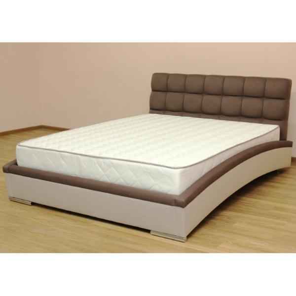 Оливия, кровать в ткани бургас 06 и шотландия комби-беж