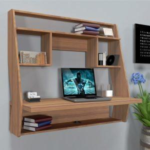 Навесной компьютерный стол ZEUS™ AirTable-III LB (орех)